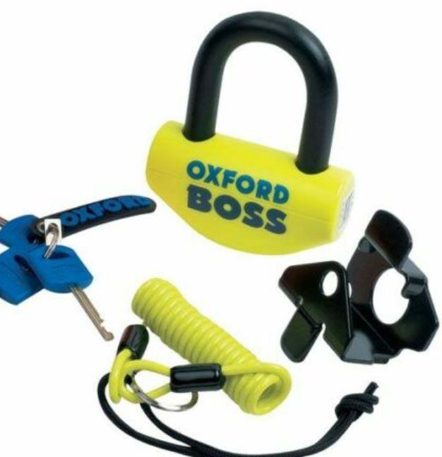Oxford Boss padlock/Disc lock (14mm) £24.99 at ebay infinity_warehouse
