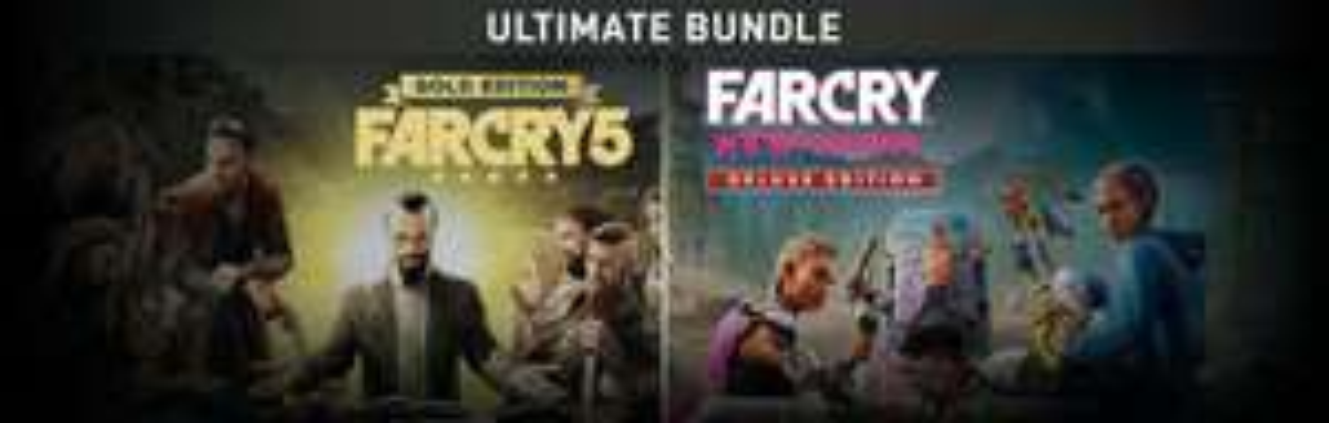 Far Cry 5 Gold Edition + Far Cry New Dawn Deluxe Edition Bundle - £14.99 @ Fanatical