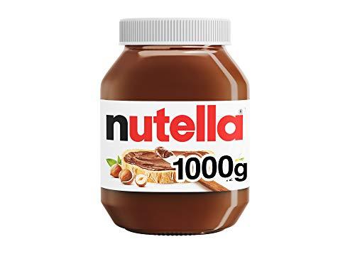 Nutella Hazelnut Chocolate Spread, 2 x 1kg - £9.98 Prime + £4.49 Non Prime / Possibly £6.49 S&S @ Amazon