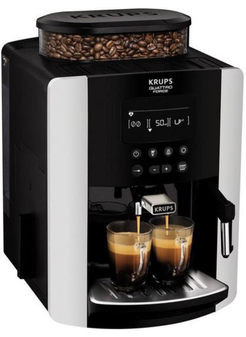 Krups Arabica Digital EA817840 Espresso Bean to Cup Coffee Machine - Silver £389.99 @ Very