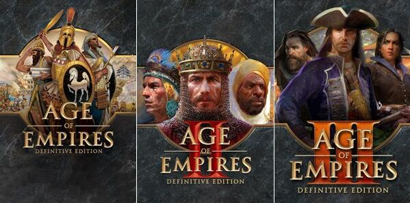 [PC] Age of Empires Definitive Edition £1.21 - AOE II DE £3.33 - AOE III DE £3.97 @ Microsoft Brazil Store