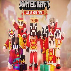 Minecraft - Lunar New Year of Ox Skin Pack (All Supported Platforms) - Free @ Minecraft