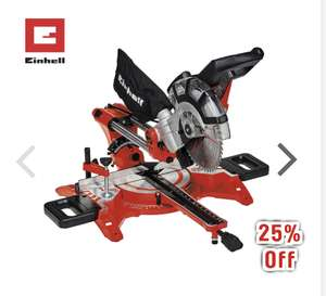 Einhell 210mm Double Bevel Sliding Mitre Saw 1800W £99.98 @ Toolstation