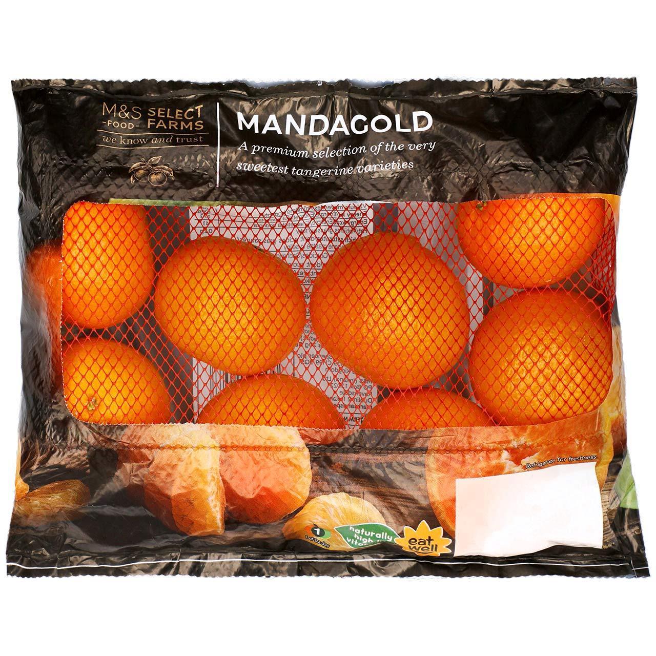 Mandagold Tangerines 600g - 85p / Three Persimmons 45p / Rockit Apples (Min 4 Pack) £1 / Avocado 65p @ Marks & Spencer instore