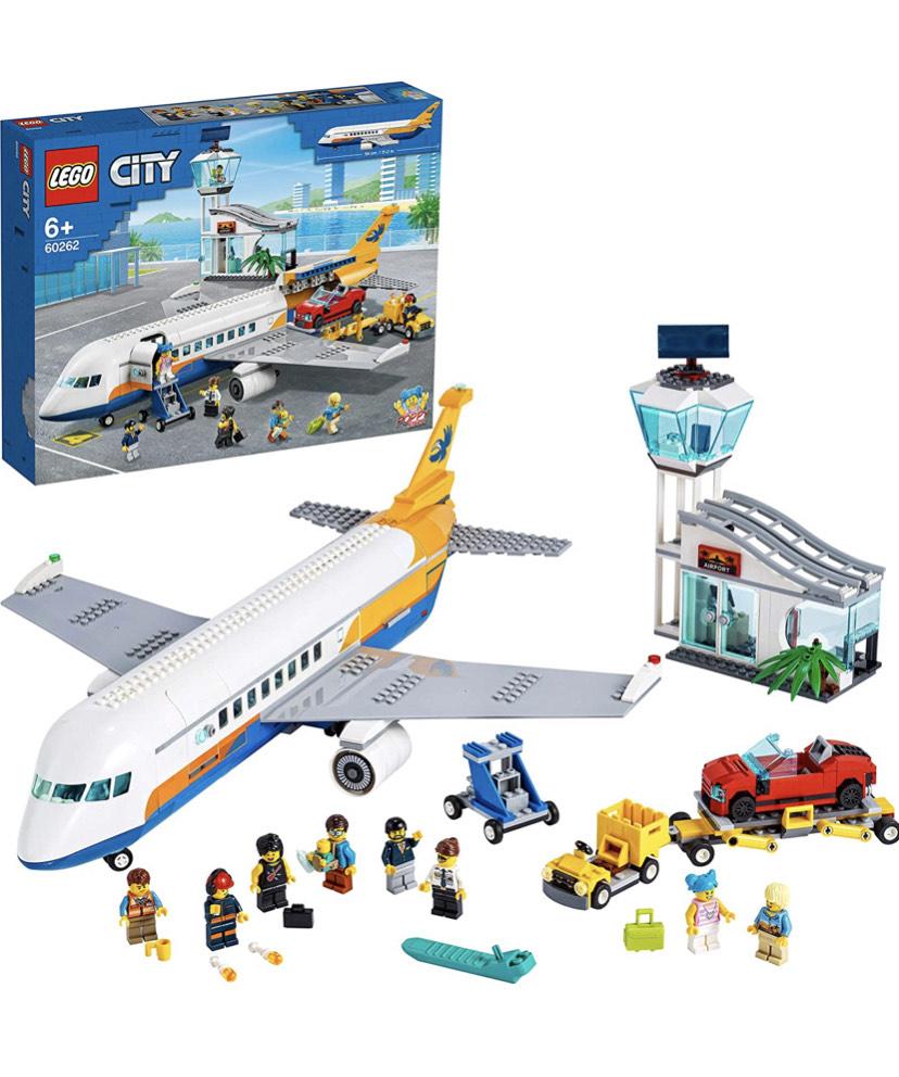 Lego City 60262 Airport Passenger Plane £60.30 @ Amazon