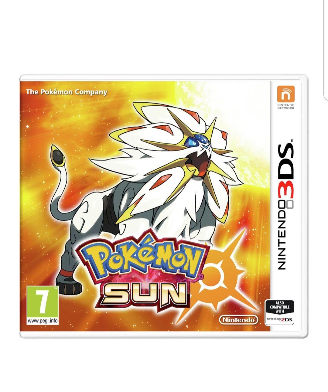 Pokemon Sun And Moon Nintendo 3ds £9.99 + £3.95 Postage @ Argos