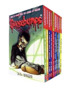 Goosebumps Horrorland Series 10 Books - £10.99 + £3.99 delivery at Books4People