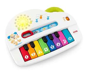 Fisher Price laugh & learn piano £9.99 (+ £4.49 Non Prime) @ Amazon. Please see post for £5 off £25 spend on certain toys on Amazon.
