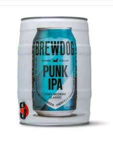 Brewdog Punk IPA India Pale Ale 5L Keg £7 at Tesco Blackpool