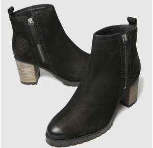 Red Or Dead black ramp nubuck leather boots £16.99 + £3 del @ schuh