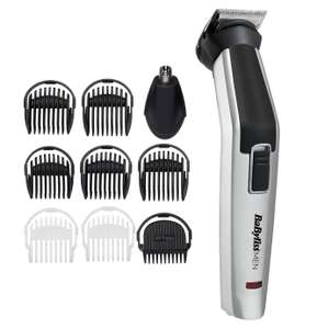 BaByliss 10 in 1 Titanium Face and Body Multi Grooming Kit with Nose Trimmer Head (3 Year Guarantee) £23.94 Delivered @ Argos
