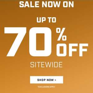 Overwatch League store sale - 3 for 2 and up 70% off - free delivery on all orders over £75 or £4.95 .