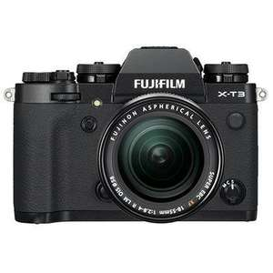 Fujifilm X-T3 Digital Camera with 18-55mm XF Lens - Black - £1249 @ Wex Photo Video