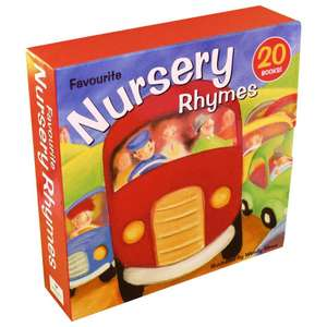 Favourite Nursery Rhymes 20 Books Box Set - Ages 0-5 - Paperback £12.99 with Free Delivery From Books2Door