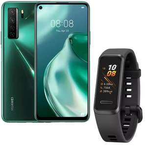 HUAWEI P40 lite 5G Silver/Green Kirin 820 5G/6GB/128GB/64MP Quad Camera + HUAWEI Band 4 for 279.99 delivered @ Huawei