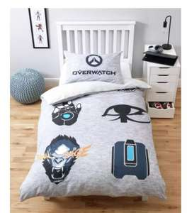 Argos: Overwatch bedding set - single £8 - double £10.90 (£3.95 del) at Argos