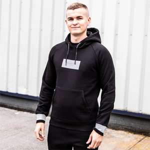 Mens Creative Recreation Lugano Hooded Black Top (Matching Jog Pants available) £13.99 / £16.98 delivered @ Big Brand Outlet