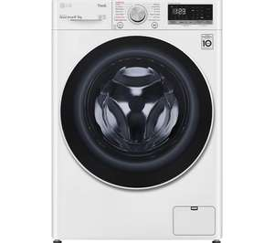 LG AI DD V6 FWV685WSE WiFi-enabled 8 kg Washer Dryer - White - £494.99 delivered using code @ Currys PC World