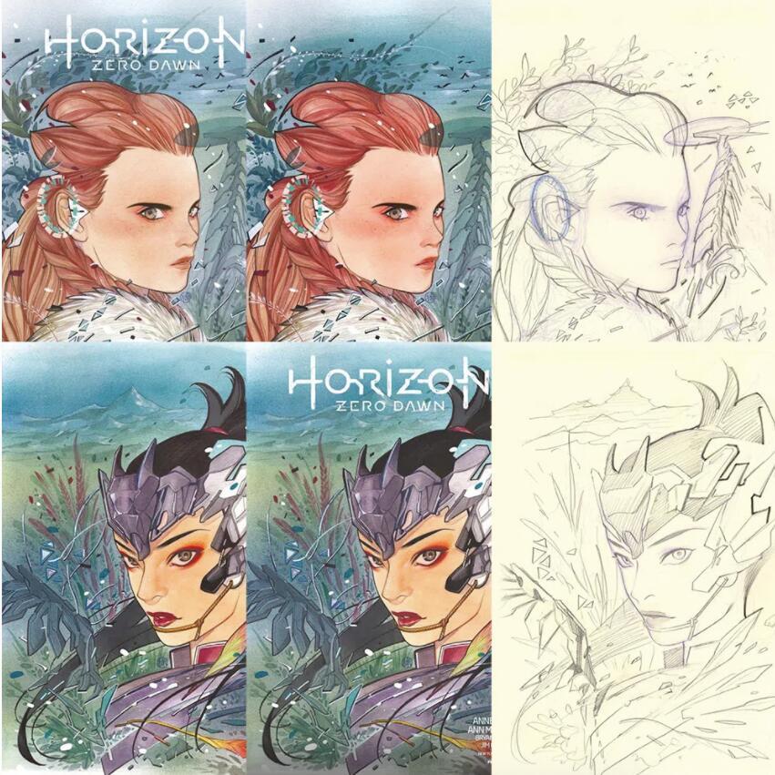 Horizon Zero Dawn Comic Peah Momoko Limited Editions £9.99 + £5.50 del at Forbidden Planet.Com