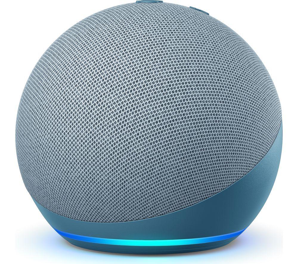 AMAZON Echo Dot (4th Gen) Black/White/Blue - £34.99 @ Currys PC World