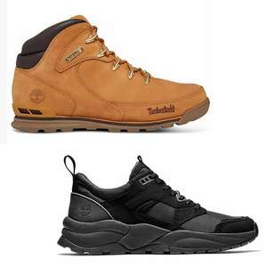 Up to 50% Off Sale + 10% Off with code + Extra 20% Off selected styles with code + Free UK Mainland Delivery & Free Returns @ Timberland