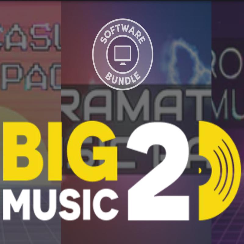 Humble Software Bundle: Big Music 2 - 73p at Humble Bundle