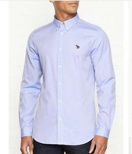 PS PAUL SMITH Zebra Logo Oxford Shirt blue or white. £36 + £3.99 Delivery at Very