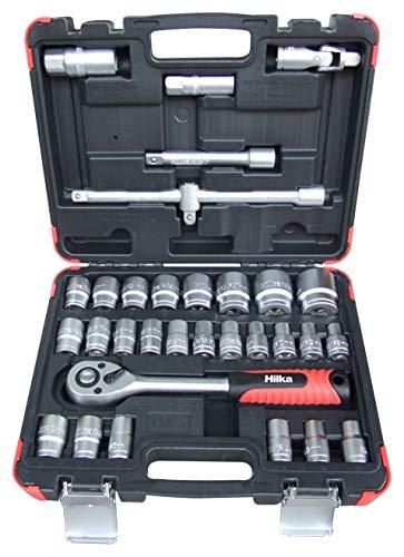 Hilka 01123202 32 piece 1/2-inch Drive Socket Set £37.79 at Amazon