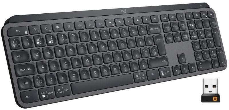 Logitech MX Keys Advanced Wireless Keyboard - Graphite £83.47 delivered @ Ebuyer