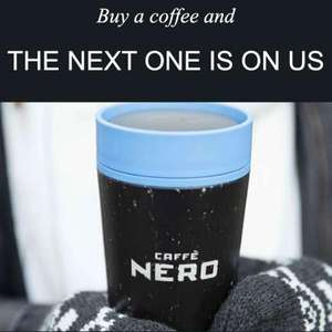 Caffe Nero - Buy a coffee and the next one is free - via app - pay in-store or order via Click & Collect