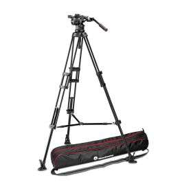 Manfrotto Nitrotech N12 fluid head tripod with middle support spreader £574.98 @ Manfrotto