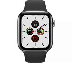 APPLE Watch Series 5 Cellular - Space Black with Black Sports Band, 44 mm (Damaged Box) - £263.18 delivered @ currys_clearance / eBay