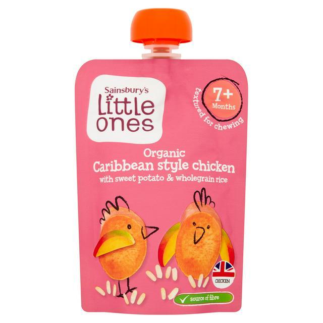 Little Ones - Organic Caribbean style Chicken baby food 20p @ Sainsbury's (Blackfriars)
