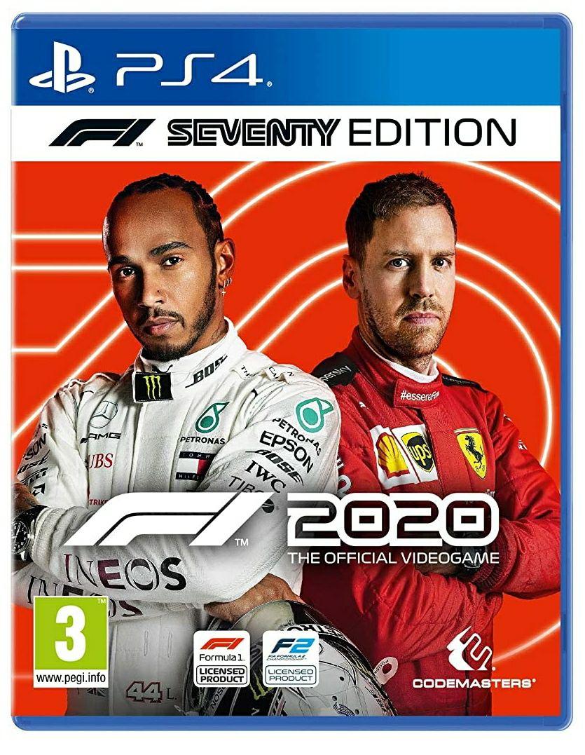 F1 2020 Seventy Edition (PS4) - £25.99 @ Amazon