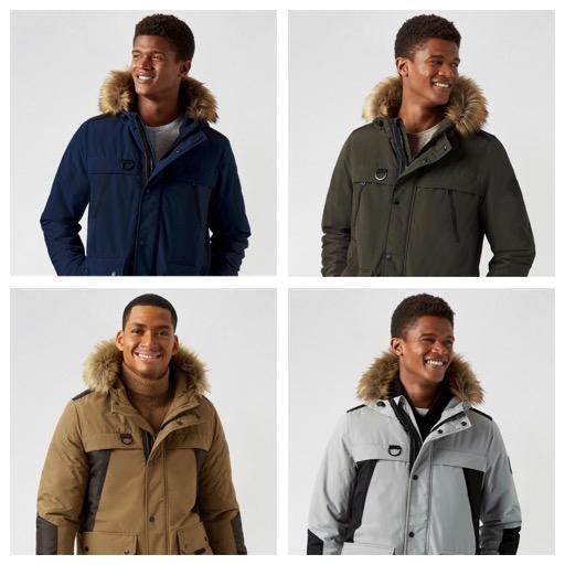 70% Off Burton Faux Fur Hooded Parka (7 Colours XS-XXL) £20 - Delivery £2.99 @ Debenhams