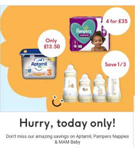 Flash Offer - Save 1/3 on selected MAM Easy Start - Online Only (+£3.50 delivery / free delivery when spend £30) @ Boots