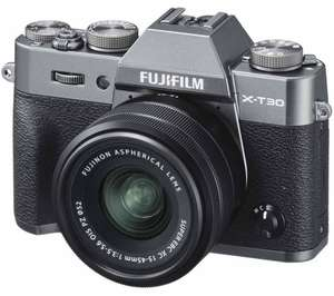 Fujifilm X-T30 with 15-45mm OIS fujinon lens £849.99 @ Currys PC World