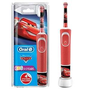 Oral-B Stages Power Kids Electric Rechargeable Toothbrush with Disney Pixar Cars Characters – £19.99 (+£4.49 non-prime) @ Amazon