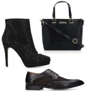 Everything £20 or less in the Shoeaholics Outlet (+£3.50 delivery) Kurt Geiger, Aldo, Carvela, Nine West - Shoes, Boots & Bags @ Shoeaholics