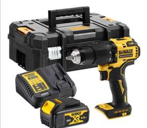 DewaltDCD709M1T18V XR Brushless Combi Drill with 1x 4Ah Battery, Case & Charger £119.99 @ ITS