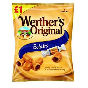 Werther's Original Eclair, Pack of 12 x 100g - £5.56 (+£4.49 Non-Prime) @ Amazon