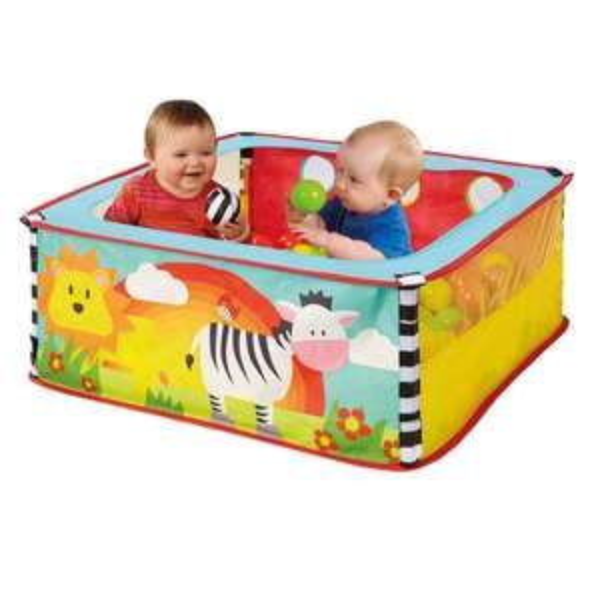 Worlds Apart Zebra Pop Up Sensory Ball Pit £17.99 Delivered @ Smyths Toys