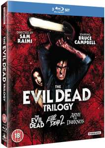 Evil Dead Trilogy [Blu-ray] £12 (+£2.99 p&p non prime) @ Amazon