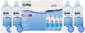 Bausch & Lomb ReNu 4 x 240ml multipurpose contact lens solution £13.10 prime / £17.59 nonPrime at Amazon
