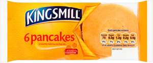 Kingsmill Blueberry Pancakes 6 Pack 60p Clubcard Price at (+ Delivery Charge / Minimum Spend Applies) Tesco