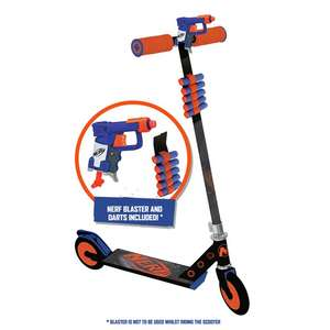 Nerf Blaster Inline Kids Scooter, includes 5 additonal darts - £26.99 + FREE next day delivery (Mainland UK) @ Halfords