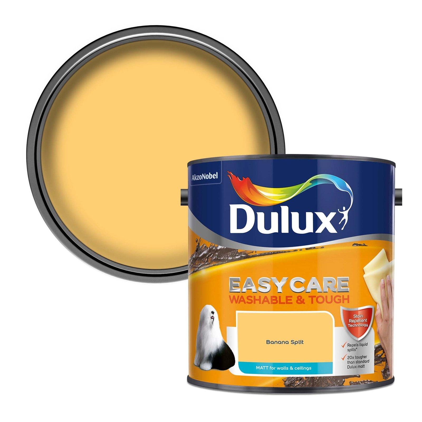 Buy One Get One Half Price on 2.5L pots Dulux Coloured EasyCare Emulsion - 5L for for £39 delivered @ Homebase