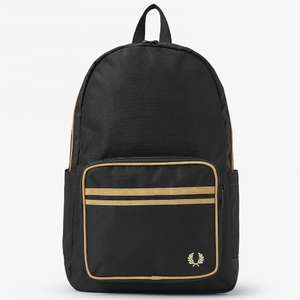 Half Price Fred Perry Twin Tipped Backpack & Extra 10% Off Applied at Checkout £27 - Free Delivery & Returns @ Fred Perry