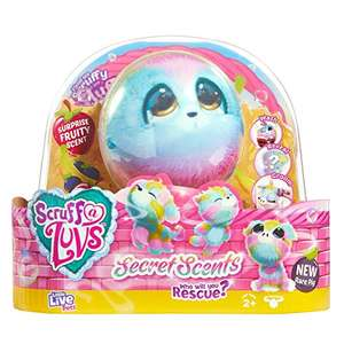 Little Live Scruff A Luvs Scented Surprise Reveal Rainbow Plush Cuddly Toy £9.99 (Prime) + £4.49 (non Prime) at Amazon