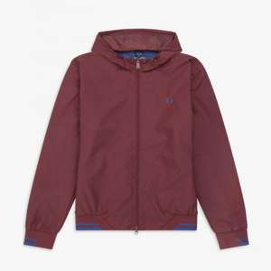 Fred Perry Hooded Brentham Jacket £67.50 delivered @ Fred Perry Shop